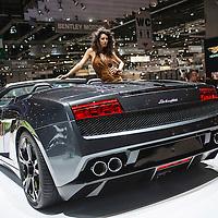 Lamborghini Gallardo LP 560-4 Spyder at the Geneva Motor Show 2010