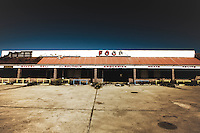 Abandoned grocery store destroyed by Hurricane Katrina, in Venice, LA.  Copyright 2011 Reid McNally