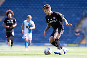 Bristol City forward Jamie Paterson in action during the EFL Sky Bet Championship match between Blackburn Rovers and Bristol City at Ewood Park, Blackburn, England on 20 June 2020.