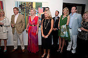 Galen and Hilary Weston host the opening of Beatriz Milhazes Screenprints. Curated by Iwona Blazwick. The Gallery, Windsor, Vero Beach, Florida. Miami Art Basel 2011