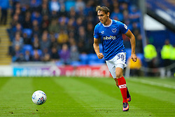 Brandon Haunstrup of Portsmouth in action - Mandatory by-line: Jason Brown/JMP - 03/09/2017 - FOOTBALL - Fratton Park - Portsmouth, England - Portsmouth v Rotherham United - Sky Bet League Two