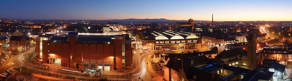 Carlisle panoramic city skyline