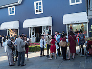 Shoppers, Bicester Village. 24 August 2016
