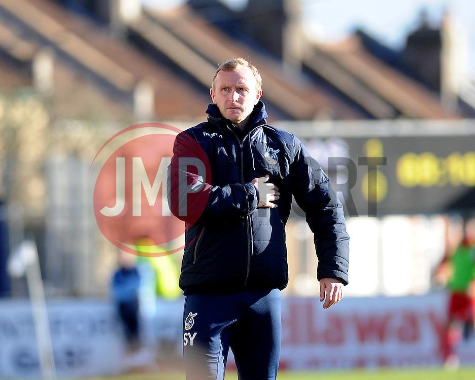 Bristol Rovers coach Steve Yates - Mandatory by-line: Neil Brookman/JMP - 28/01/2017 - FOOTBALL - Memorial Stadium - Bristol, England - Bristol Rovers v Swindon Town - Sky Bet League One