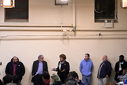 Melissa Robbins, who runs for a Council-at-Large seat, is one of the community members who raised questions during a town hall meeting of the Philadelphia Mayor's Opioid Task Force and the Philadelphia Resilience Project, on January 9, 2019. (Bastiaan Slabbers for WHYY)