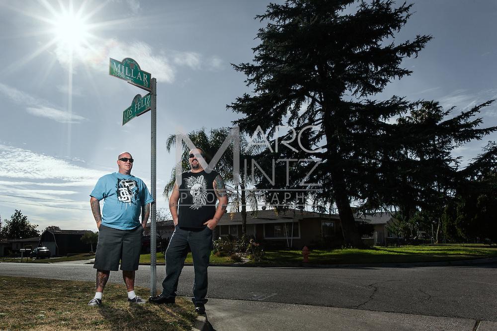 Bob and Casey.  Highland, California.
