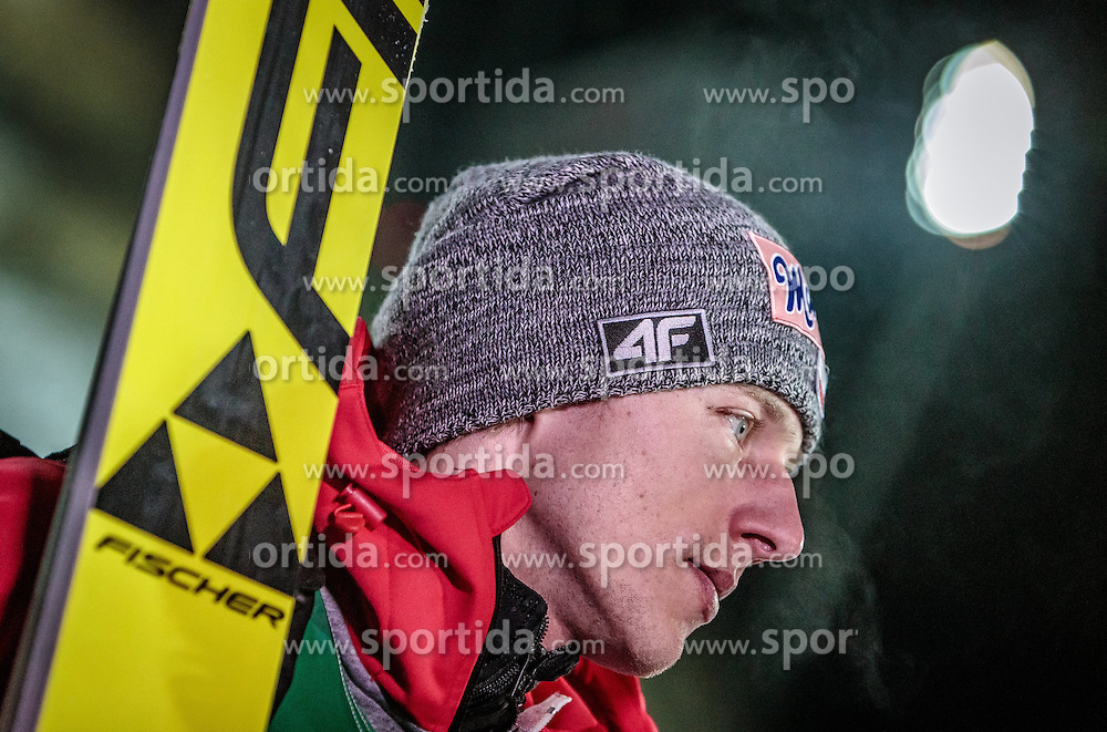 02.12.2016, Vogtland Arena, Klingenthal, GER, FIS Weltcup Ski Sprung, Klingenthal, im Bild Dawid Kubacki (POL) // Dawid  Kubacki of Poland during the mens FIS Skijumping World Cup at the Vogtland Arena in Klingenthal, Germany on 2016/12/02. EXPA Pictures © 2016, PhotoCredit: EXPA/ JFK