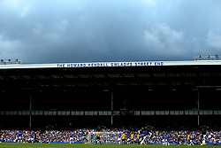 A general view of The Howard Kendall Gwladys Street End at Goodison Park during Everton v Wolverhampton Wanderers - Mandatory by-line: Robbie Stephenson/JMP - 01/09/2019 - FOOTBALL - Goodison Park - Liverpool, England - Everton v Wolverhampton Wanderers - Premier League