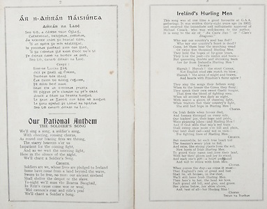 All Ireland Senior Hurling Championship Final,.Brochures,.01.09.1940, 09.01.1940, 1st September 1940, .Kilkenny 1-7, Limerick 3-7, .Minor Limerick v Antrim,.Senior Kilkenny v Limerick, .Croke Park, 0191940AISHCF,..Songs, Ar n-Amran Naisiunta, Pur National Anthem The Soldier's Song, Ireland's Hurling Men,