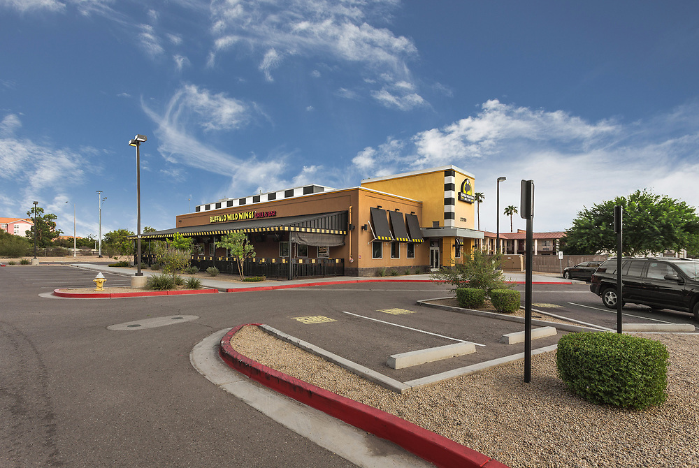 Phoenix, Arizona restaurant commercial real estate photography