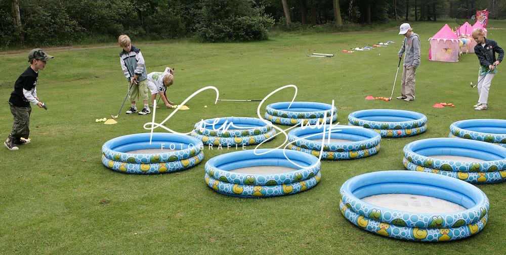 KLM OPEN LADIES 2007. Golfspelletjes voor de kinderen. COPYRIGHT KOEN SUYK