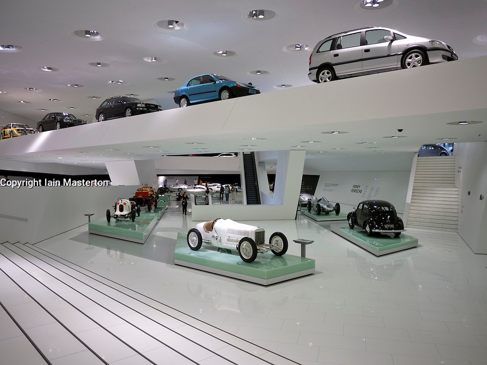 Porsche Museum in Stuttgart Germany