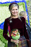 Koningin Maxima heeft het internationale kennis- en innovatiecentrum voor de glastuinbouw, het World Horti Center in Westland geopend.<br /> <br /> Queen Maxima has opened the international knowledge and innovation center for greenhouse horticulture, the World Horti Center in Westland.