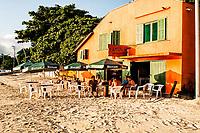Restaurante Tatuíra Petisqueira, na Praia do Canto Grande. Bombinhas, Santa Catarina, Brasil. / Tatuira Petisqueira Restaurant, at Canto Grande Beach. Bombinhas, Santa Catarina, Brazil.