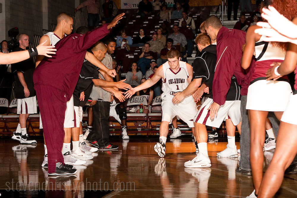 OC Men's Basketball vs NW OK State.November 24, 2008