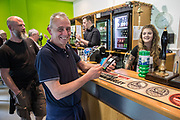 FGR card machine during the EFL Sky Bet League 2 match between Forest Green Rovers and Grimsby Town FC at the New Lawn, Forest Green, United Kingdom on 5 May 2018. Picture by Shane Healey.