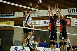 20170125 NED: Beker, Sliedrecht Sport - Seesing Personeel Orion: Sliedrecht<br />Michael van Leeuwe (4) of Sliedrecht Sport <br />&copy;2017-FotoHoogendoorn.nl / Pim Waslander