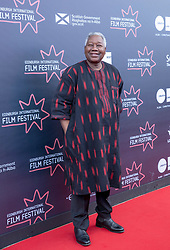 Judges photocall at Edinburgh International Film Festival<br /> <br /> Pictured: Gaston Kabore, Director (Documentary Jury)