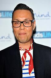 Gok Wan attends the Mind Media Awards 2012, BFI Southbank, Belvedere Road, London, United Kingdom, November 19, 2012. Photo by Chris Joseph / i-Images.