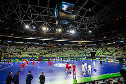 Arena during futsal match between Slovenia and Serbia at Day 1 of UEFA Futsal EURO 2018, on January 30, 2018 in Arena Stozice, Ljubljana, Slovenia. Photo by Ziga Zupan / Sportida