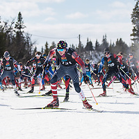 2019 Day Three Liatoppen Skiskytter Festival Mass Start