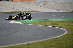 February 18, 2019 - Barcelona, Spain - Australian driver Daniel Ricciardo of French  team Renault F1 Team driving his single-seater RS19 during Barcelona winter test in Catalunya Circuit in Montmel?, Spain, on February 18, 2019. (Credit Image: © Andrea Diodato/NurPhoto via ZUMA Press)