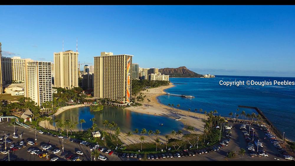 Ala Moana Park, Ala Wai Yacht Harbor, Waikiki, Honolulu, Oahu, Hawaii