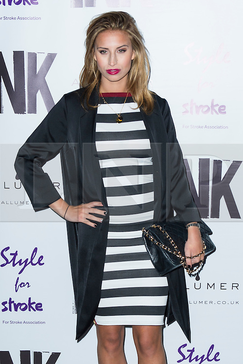&copy; Licensed to London News Pictures. 04/12/2013, UK. <br /> Ferne McCann, A Night With Nick, INK, London UK, 04 December 2013. Photo credit : Raimondas Kazenas/Piqtured/LNP