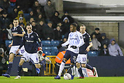 Everton striker Ademola Lookman (31) during the The FA Cup fourth round match between Millwall and Everton at The Den, London, England on 26 January 2019.