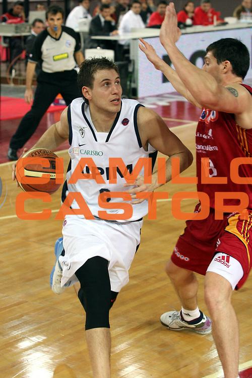 DESCRIZIONE : Roma Lega A1 2007-08 Lottomatica Virtus Roma Upim Fortitudo Bologna<br />GIOCATORE : Stefano Mancinelli<br />SQUADRA : Lottomatica Virtus Roma<br />EVENTO : Campionato Lega A1 2007-2008<br />GARA : Lottomatica Virtus Roma Upim Fortitudo Bologna<br />DATA : 02/12/2007<br />CATEGORIA : Ritratto<br />SPORT : Pallacanestro<br />AUTORE : Agenzia Ciamillo-Castoria/G.Ciamillo
