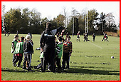 Saracens Masterclass at Old Albanians. 31-10-08. u9s and u10s