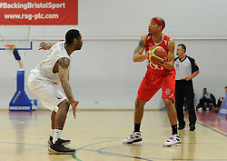 Bristol Flyers' Greg Streete - Photo mandatory by-line: Dougie Allward/JMP - Mobile: 07966 386802 - 28/03/2015 - SPORT - Basketball - Bristol - SGS Wise Campus - Bristol Flyers v London Lions - British Basketball League