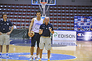 Sassari 19 Agosto 2012 - qualificazioni Eurobasket 2013 - Allenamento<br /> Nella Foto : LUCA DALMONTE<br /> Foto Ciamillo/Castoria
