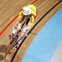 Hugo Haak werd Nederlands Kampioen op de kilometer in 1.02,480