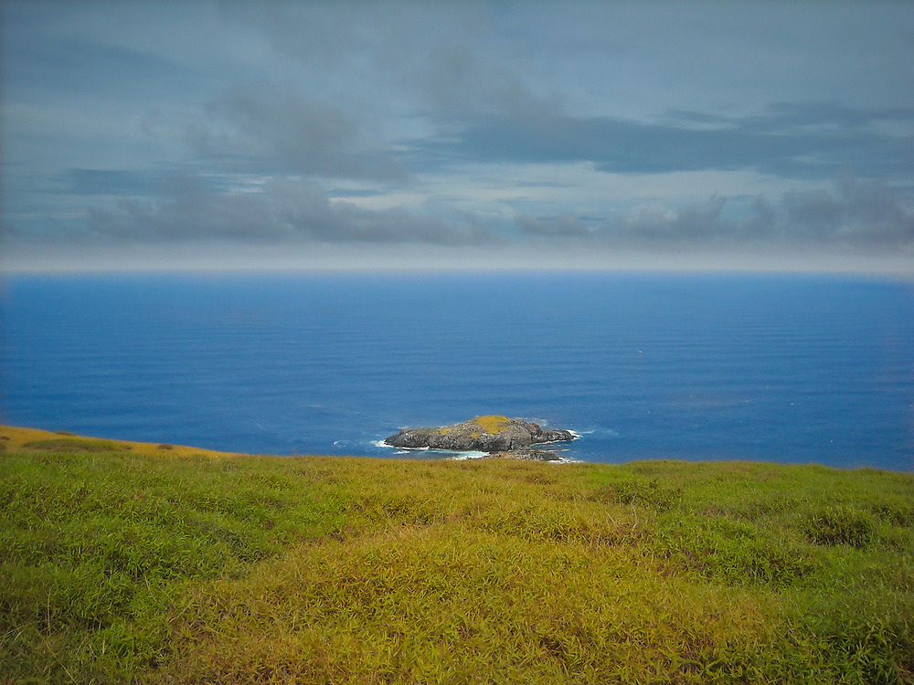 """Motu Nui is the largest of three islets just south of Easter Island and is the most westerly place ... Motu means """"island"""" in Rapa Nui language."""