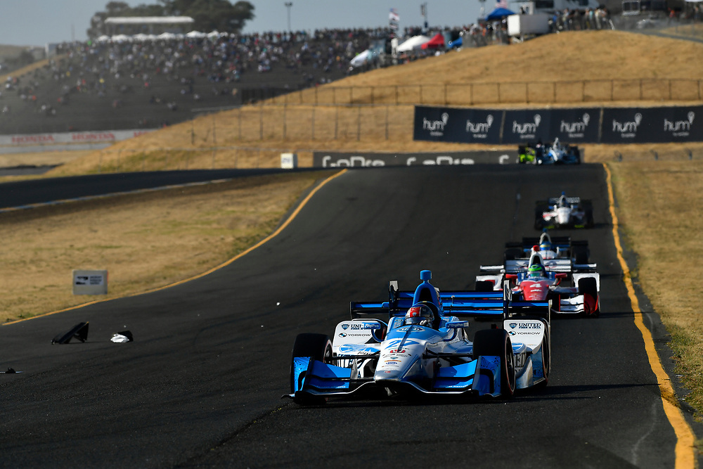 Verizon IndyCar Series<br /> GoPro Grand Prix of Sonoma<br /> Sonoma Raceway, Sonoma, CA USA<br /> Sunday 17 September 2017<br /> Marco Andretti, Andretti Autosport with Yarrow Honda<br /> World Copyright: Scott R LePage<br /> LAT Images<br /> ref: Digital Image lepage-170917-son-11073