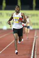PRETORIA, SOUTH AFRICA, Friday 20 April 2012, Caster Semenya wins the women's 800m and qualifies for the London Olympics during the Yellow Pages Series 3 held at the Absa Tuks stadium..Photo by Roger Sedres/ImageSA/ASA