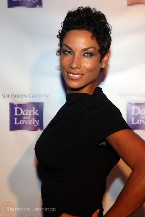 18 January 2011- New York, NY- Nicole Murphy at The SoftSheen-Carson announcement of Bria Murphy as its new Global Brand Ambassador and launch of New Dark and Lovely Healthy-Gloss 5 Relaxer and Maintenance Haircare System held at the Juliet Supperclub on January 18, 2011 in New York City. Photo Credit: Terrence Jennings