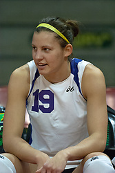 12 November 2006: Melissa Schmitz. .In the final regular season home game at ISU, the Northern Iowa Panthers defeated the Illinois State Redbirds 3 game to 1. The match took place at Redbird Arena on the campus of Illinois State University in Normal Illinois.<br />