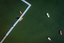 THEMENBILD - ein Steg am Zeller See, aufgenommen am 30. Juni 2019 in Zell am See, Österreich // a pier at the Zeller lake, Zell am See, Austria on 2019/06/30. EXPA Pictures © 2019, PhotoCredit: EXPA/ JFK