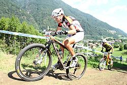 Blaza Klemencic na dirki svetovnega pokala v Val di Sole (Photo by Grega Stopar / Sportida.com)