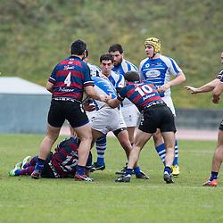 Partido de Rugby disputado entre el AVIA EIBAR R.T y DURANGO NISSAN GAURSA R.T.