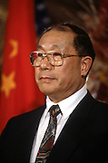 Liu Zhongli, Minister of Finance of the People's Republic of China at an event November 19, 1996 in Washington, DC.