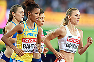 Great Britain, London - 2017 August 07: Angelika Cichocka (SKLA Sopot) of Poland competes in women's 1500 meters final during IAAF World Championships London 2017 Day 4 at London Stadium on August 07, 2017 in London, Great Britain.<br /> <br /> Mandatory credit:<br /> Photo by © Adam Nurkiewicz<br /> <br /> Adam Nurkiewicz declares that he has no rights to the image of people at the photographs of his authorship.<br /> <br /> Picture also available in RAW (NEF) or TIFF format on special request.<br /> <br /> Any editorial, commercial or promotional use requires written permission from the author of image.