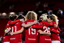 Bristol City Women huddle prior to kick off - Mandatory by-line: Ryan Hiscott/JMP - 17/02/2020 - FOOTBALL - Ashton Gate Stadium - Bristol, England - Bristol City Women v Everton Women - Women's FA Cup fifth round