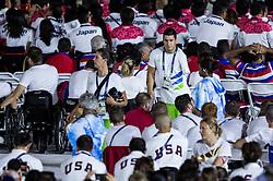 Darko Duric of Slovenia at Closing Ceremony during Day 11 of the Rio 2016 Summer Paralympics Games on September 18, 2016 in Maracanã Stadium, Rio de Janeiro, Brazil. Photo by Vid Ponikvar / Sportida
