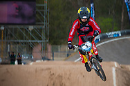 #5 (HERMAN David) USA at the 2014 UCI BMX Supercross World Cup in Santiago Del Estero, Argentina.