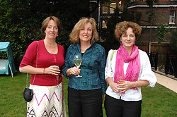 Left to right, LADY ALEXANDRA ETHERINGTON, ELIZABETH KLINCK and LIZ ETHERINGTON at a reception for the Friends of The Castle of Mey held at The Goring Hotel, London on 20th May 2008.<br /><br />NON EXCLUSIVE - WORLD RIGHTS