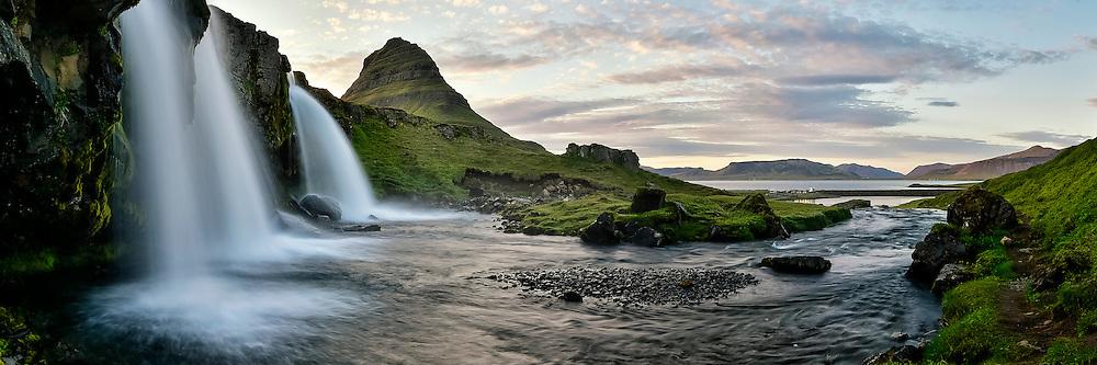 Landscape in west-Iceland.