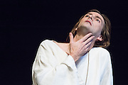 The Royal Shakespeare Company presents Richard II, starring David Tennant as Richard.  Richard II is the first production in a new cycle of Shakespeare's History plays, directed by RSC Artistic Director Gregory Doran, to be performed over the coming seasons. Performed at the RSC in Stratford, and then the Barbican Theatre, London. Picture features David Tennant as Richard.